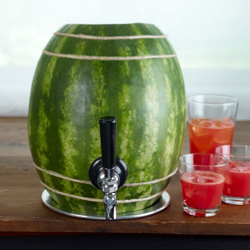 Watermelon Keg Carving