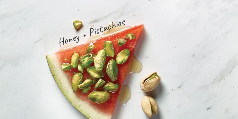 Honey + Pistachios
