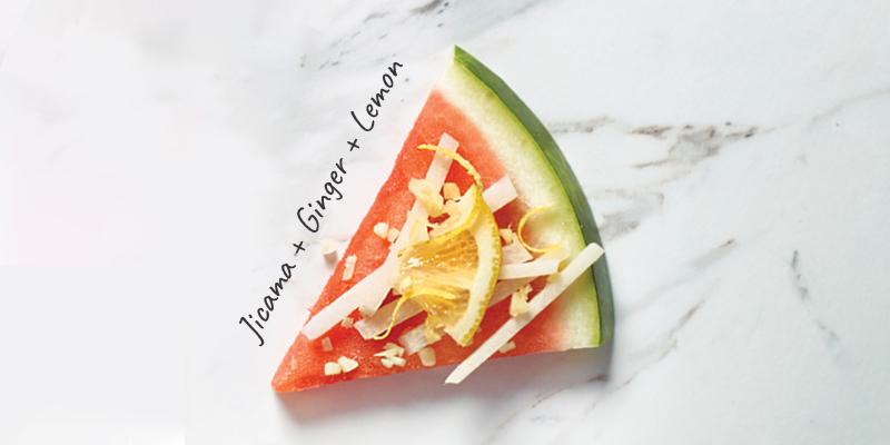 Jicama + Ginger + Lemon