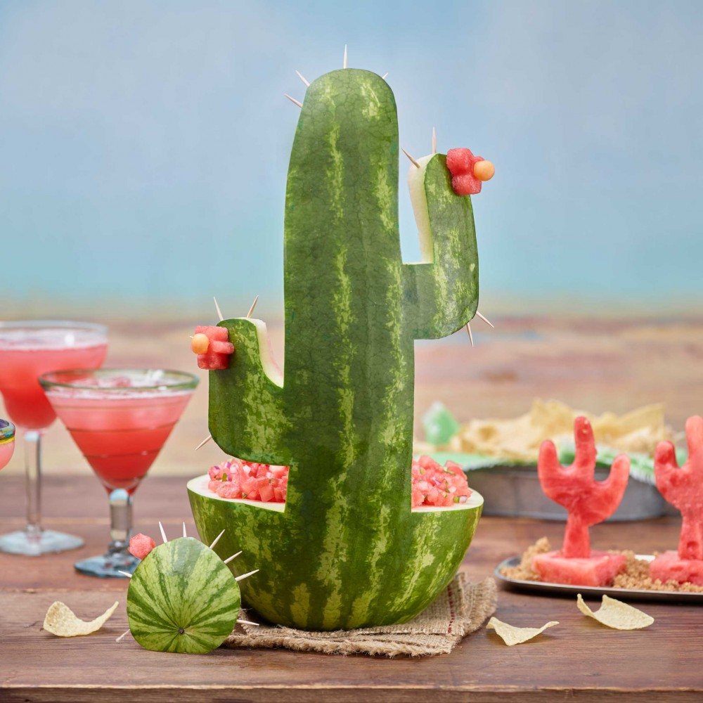 Cactus Watermelon Carving