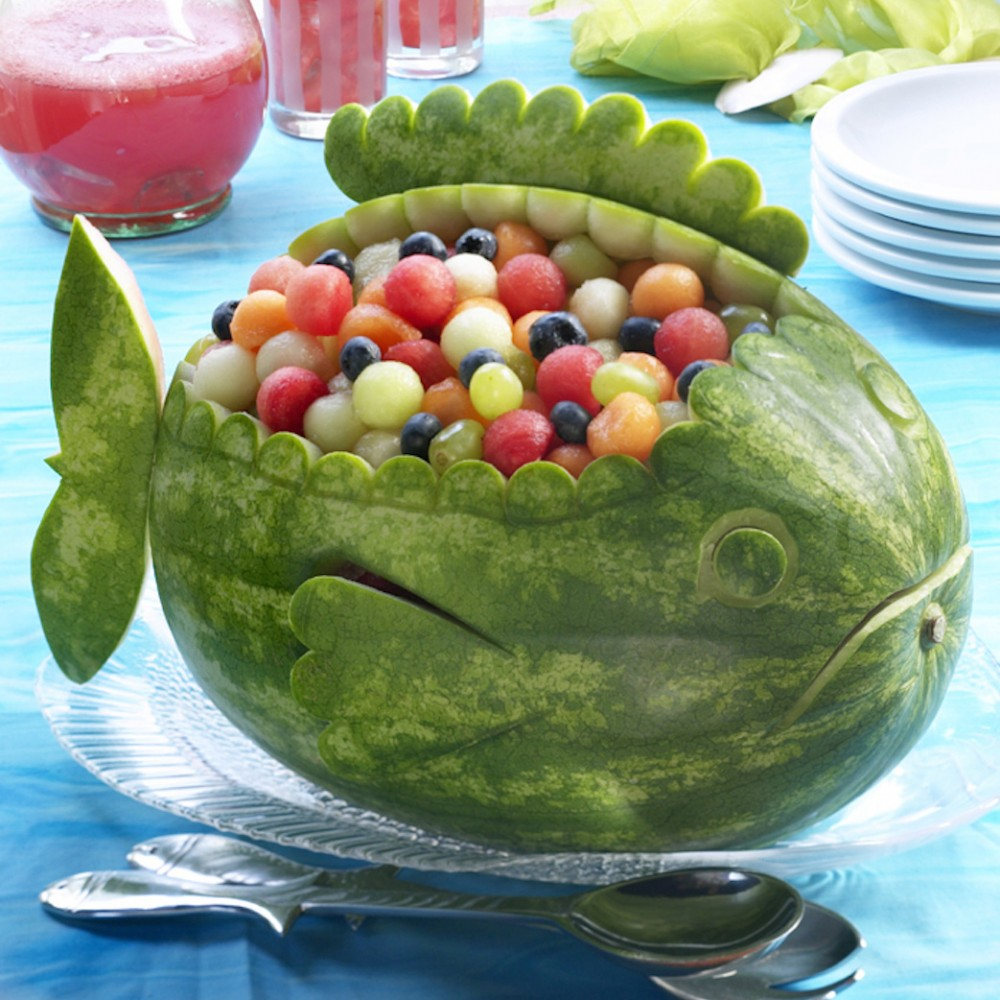 Fish Watermelon Carving