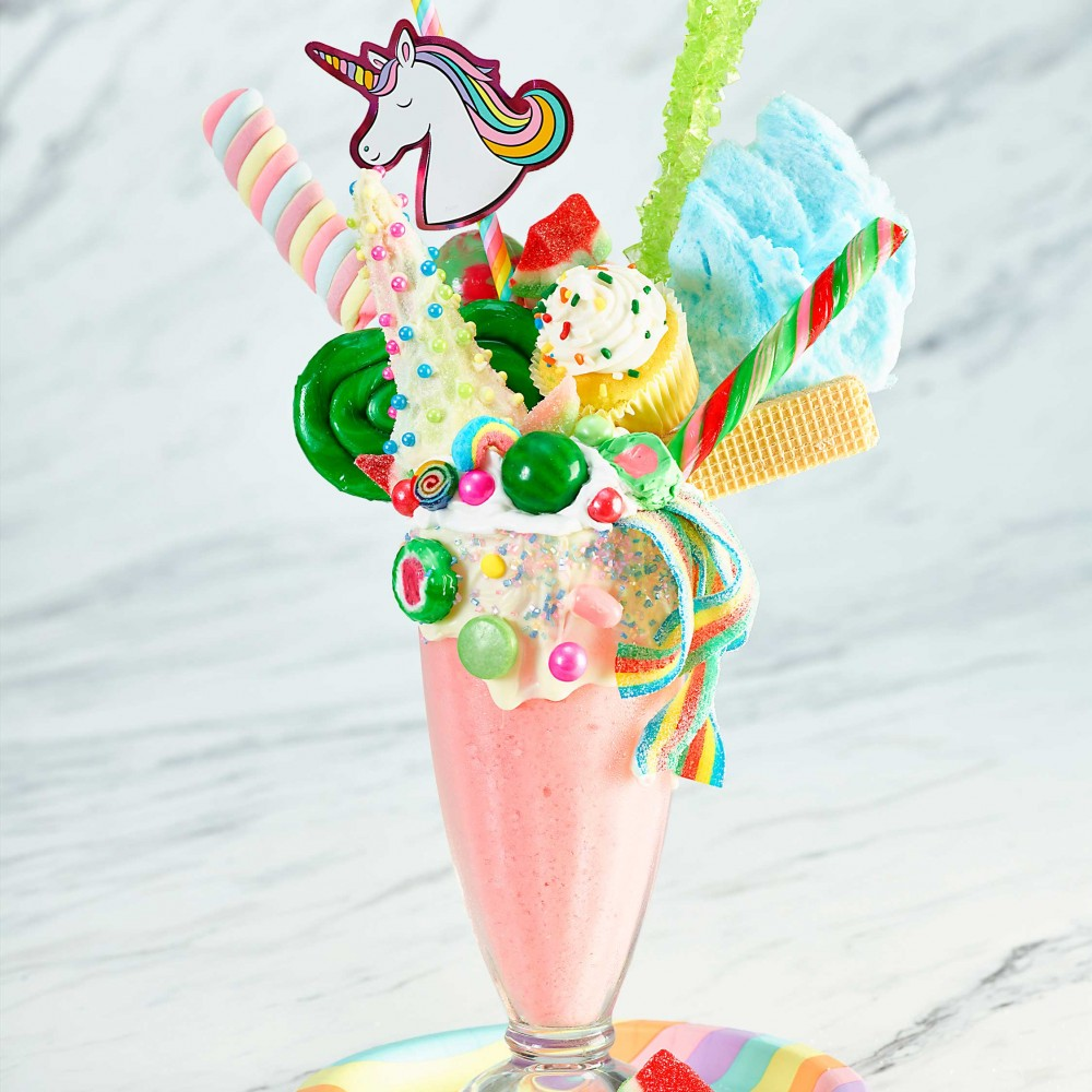 Unicorn Watermelon Milkshake