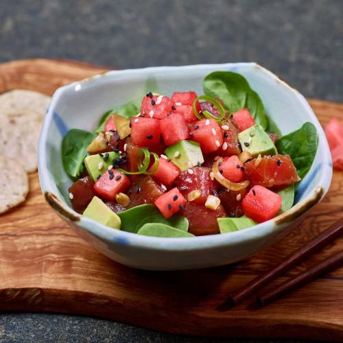 Watermelon Poke Bowl