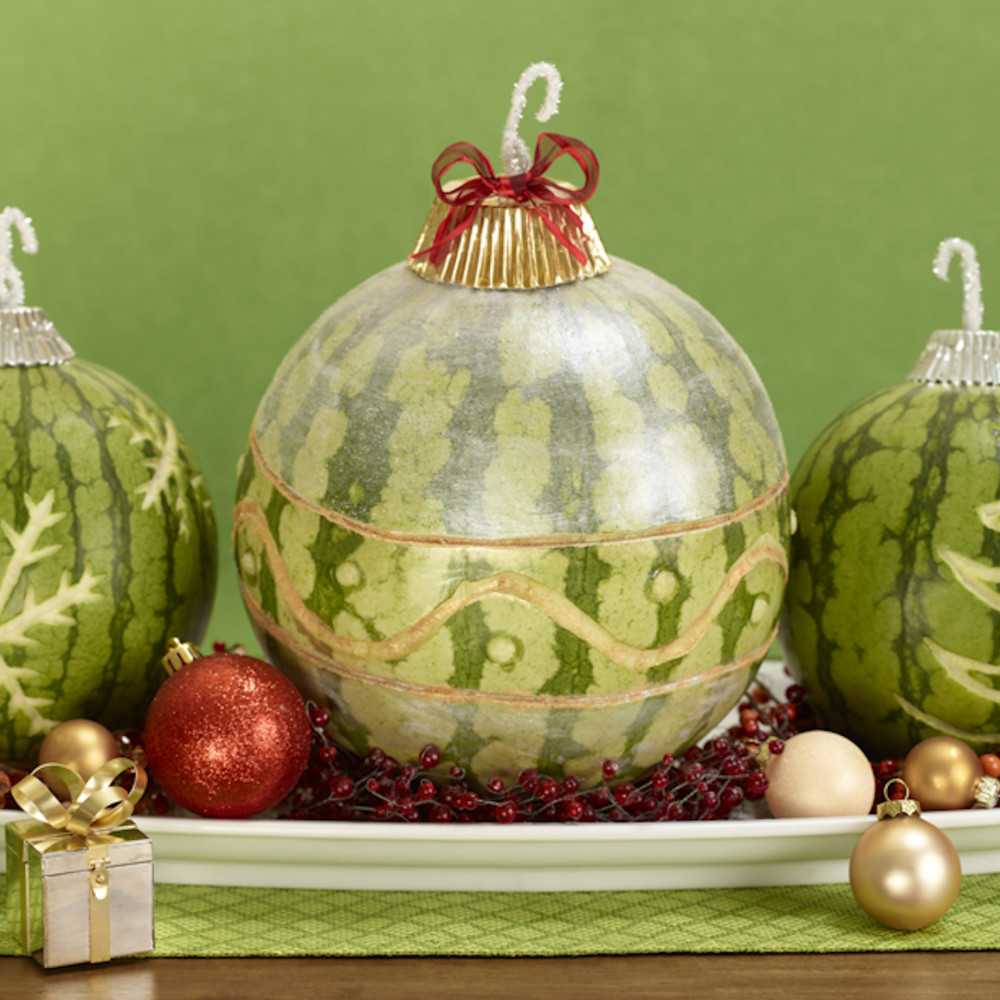watermelon ornaments
