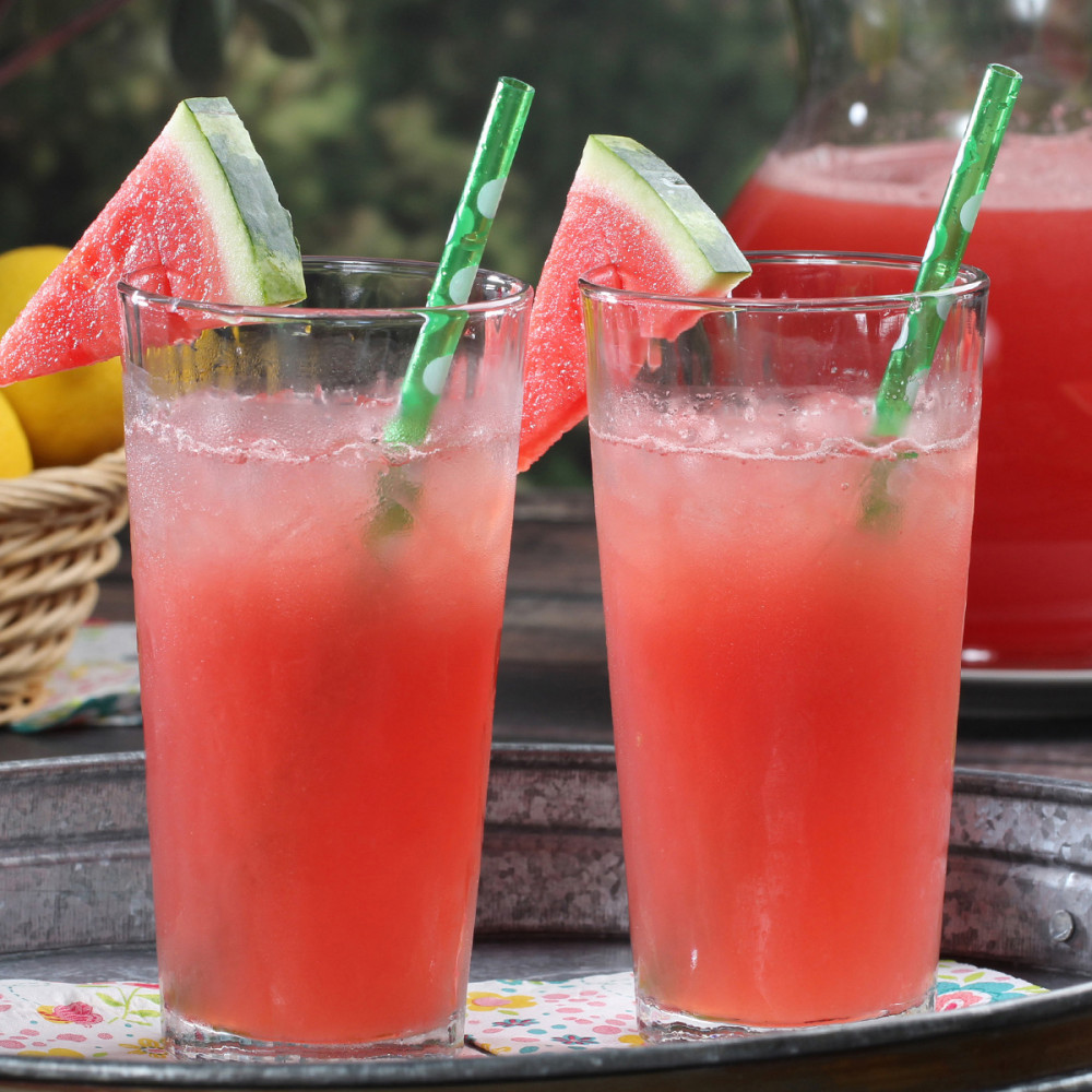 Two watermelon coolers